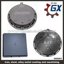 Sell Cast Iron/ ductile iron Manhole Cover EN124 B125 C250 D400 at best price