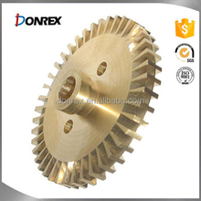 OEM service iron and stainless steel water pump brass impeller