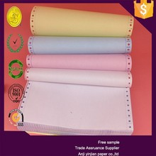 High quality 241mm offset printing paper for carbonless continuous printing paper