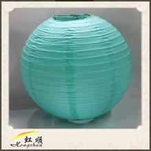 20'' Teal Blue Small Cotton Paper Lanterns Wedding