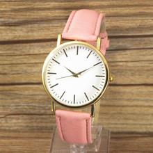 Hole sale leather strap wrist watch women cheap wholesale