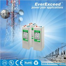 Hot sell 2v 200ah Flat plate gel lead acid dry battery pack
