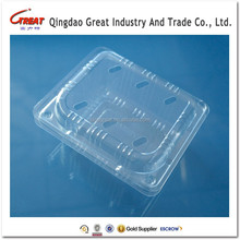 Accept Custom Clear Disposable Fruit Container Clamshell Packing Box