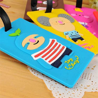 Promotional photo luggage tag