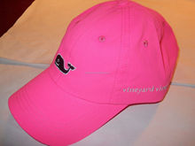 promotional mens womens velcro cotton embroidered golf cap