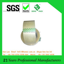 Bopp hotmelt packing tape Resistance to cold, heat and aging (SGS/ISO)