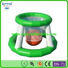 2015 Enjoy portable basketball stand, mini floating basketball stand, inflatable water basketball stand