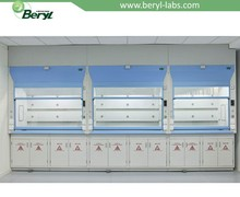 Width 4'5'6' commercial fume hood for lab chemical biological