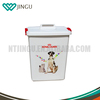 Food grade PP plastic Pet Food container with BPA free