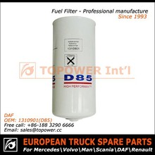 OEM D85 special manufacturing high quality motorcycle fuel filter