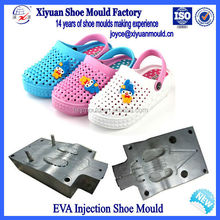 2015 Latest Style Lady EVA Clog Aluminium Mould Die Maker In China