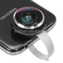Universal New Standard Super Circle Fisheye Lens 235 Degree Clip for Phone Samsung for HTC LG