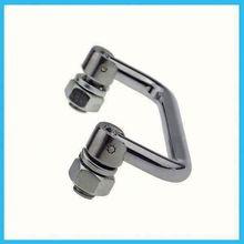 Provide black iron door pull handles