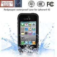 New Design Waterproof Shockproof Swimming Dirt Proof Case For iphone 4 4S