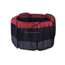 Wholesale outdoor folding fabric pet dog playpen