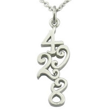 Stainless steel laser cut outline pendant customized