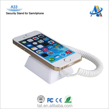 Retail loss prevention,display anti-theft security device for cell phone A33