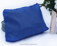 China manufacture Wholesale Girls fashion PU cosmetic bag with zipper, promotional makeup bag