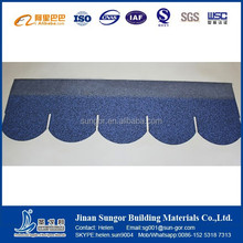 red green black blue gray fish scale asphalt roof shingles
