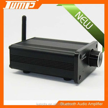 ShenZhen Manufacturer aluminum housing high quality 20W audio amplifier with bluetooth 12v