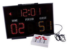 Basketball scoreboard Red 5mm LED use for more than 100,000 hours