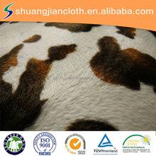 animal print /small dot print/dot design pattern printed short plush fabric