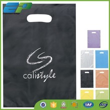 ldpe carrier die cut plastic shopping bag