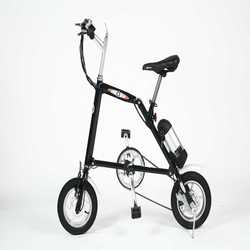 "12"" mini electric folding bike chopper for kids"