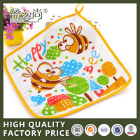 New Popular Super Soft Face Cartoon Printing Towel For Baby