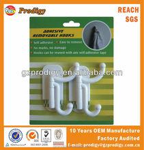retractable coat hooks/small decorative hooks