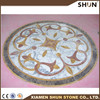 high quality factory directly waterjet pattern medallion for floor tiles