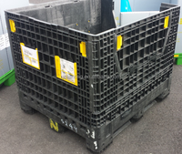 sell capacity load 4t good quality collapsible heavy duty corrugated bin cheaper