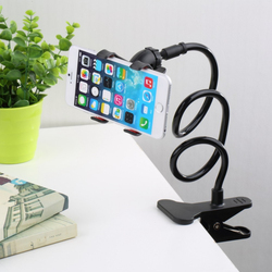 Gooseneck Car Desk Clip clamp Mount Holder for iPhone 5S Android Cell Phone GPS