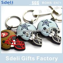 custom rubber key chain hottest promotional soft pvc keychain