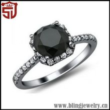 Attractive New Style Hotsale Fashion Steering Silver Ring