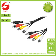 4rca to 4 rca cable High Quality wholesale factory