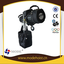 electric swing stage lifting equipment hoist /stage light lift /lifting stage