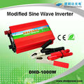 inversor de energía 1000watt dc 12v 24v, inversor de energía de alta calidad dc 12v ac 220v para horno de microondas, DMD CE amigable