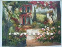 Greece Landscape Art Painting