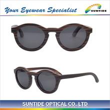 Madera de la moda gafas de sol de marco de madera hecha a mano gafas de sol gafas con la lente polarizada( wa09)