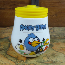 Funny angry bird ceramic cup
