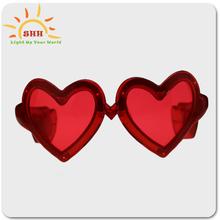 party favors high quality led heart shaped sunglasses, Heart Shaped Led Glow Sunglasses, Flashing Led Sunglasses