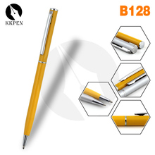 SHIBELL hotel promotional gift metal twist ball pen slim