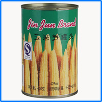 425g canned young corn cut