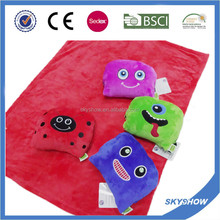 Professional manufacture flannel blanket with customer logo