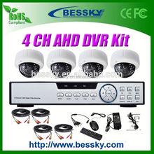 1.0/1.3 Megapixel HD CCTV Camera kit ahd cctv camera 2.8-12mm Manual Zoom Lens