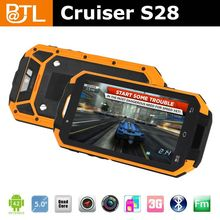 Cruiser S28 1GB+4GB 8MP camera 3G bluetooth IP67 android 4.2 waterproof dual sim card phone