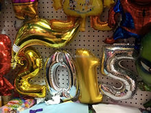 hot sale inflatable advertising balloon inflatable foil number balloons for decoration