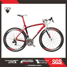 CKT 398 Black Red White Taiwan Carbon Road Bike