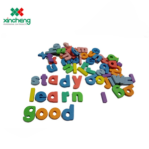 Couleur Vive En Gros éducatifs Bébé jouets pour enfants en mousse eva imperméable lettre alphabet mur autocollant